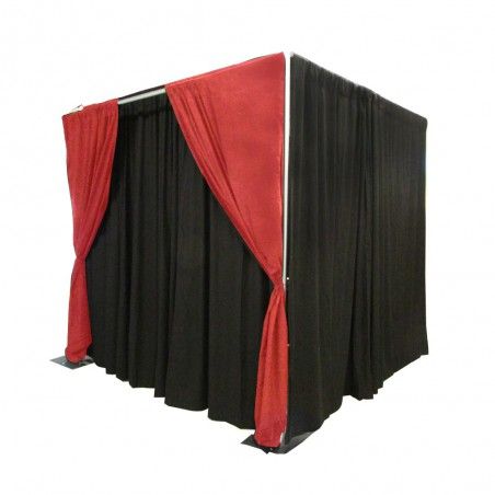 Pipe and Drape Photo Booth (Fixed Height)