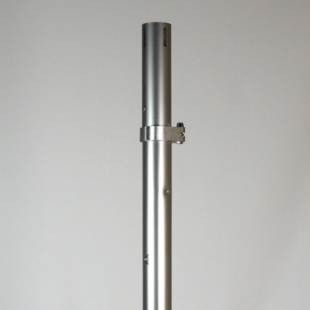 """2"""" Adjustable Pipe and Drape Upright (12'-20')"""
