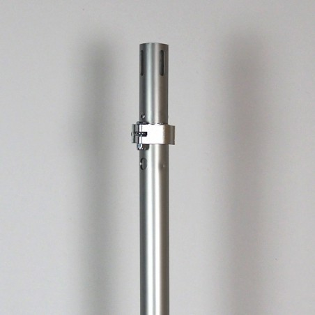 """1.5"""" Adjustable Pipe and Drape Upright (4'-7')"""