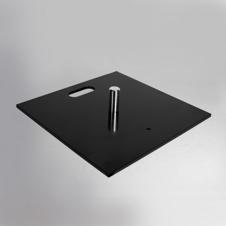 """Heavy Duty Slip Fit Base with Pin (18"""" x 18"""")"""