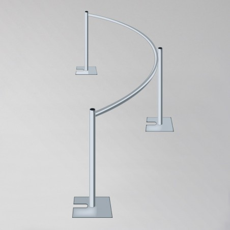 Curved Drape Support (10')