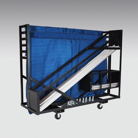 Pipe and Drape Party Cart Plus