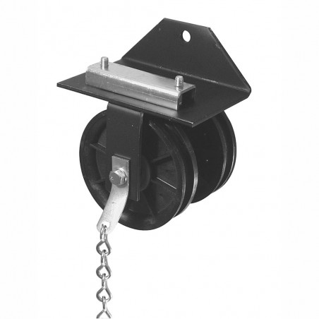 """ADC 2863 5"""" Live End Pulley"""