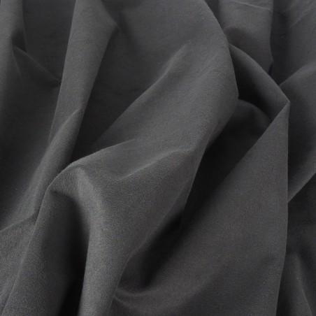 9 oz Duvetyne FR (Black) - 25 Yard Roll