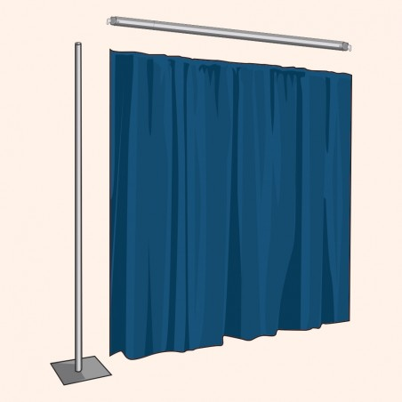 3 Ft. Tall Backdrop Extension Kit (Voile)