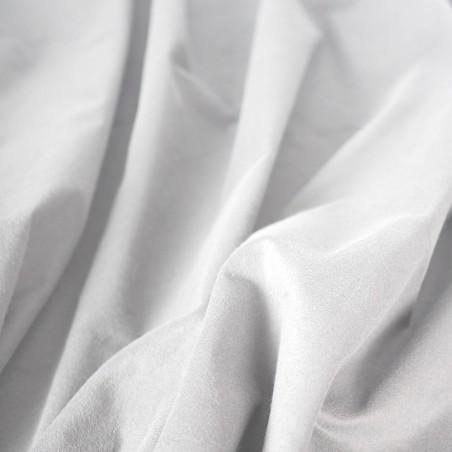 9 oz Duvetyne FR (Grey/White) - 25 Yard Roll