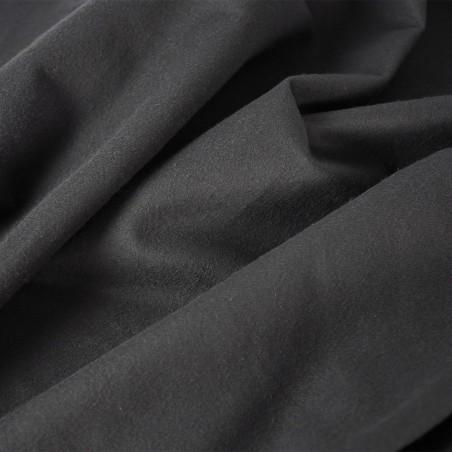 18 oz Double-Faced Duvetyne FR (Black)