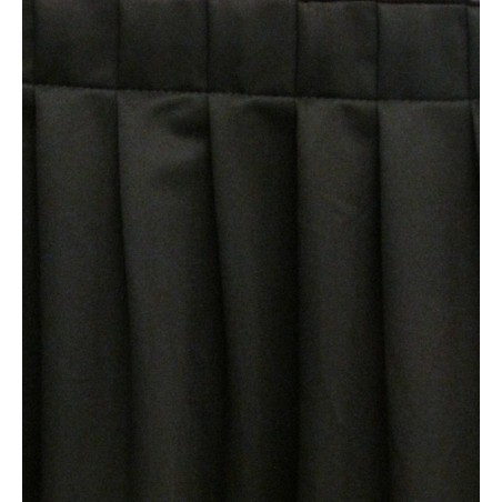 4' Mini Knife Pleat EventTex® Stage Skirt