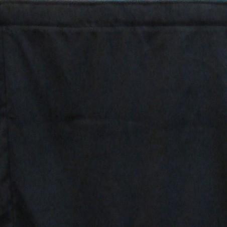 4' Flat Finish Plateau Velour Stage Skirt