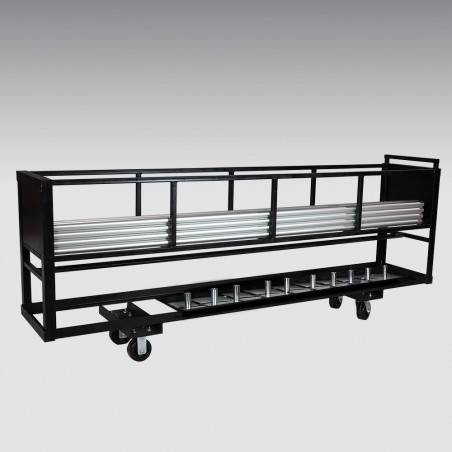 8' Combo Cart for Pipe and Bases
