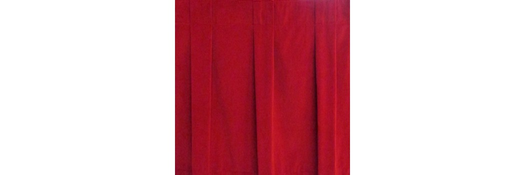 Plateau Velour Box Pleat Stage Skirting