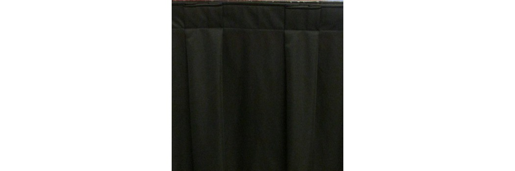 EventTex® Box Pleat Stage Skirting