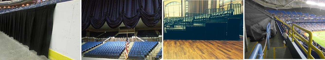 Arena Masking and Curtains