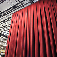 Removing Wrinkles from Stage Curtains